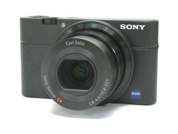 【中古】 SONY ソニー Cyber-shot RX100 DSC-RX100 デジタルカメラ コンデジ ブラック F2710412