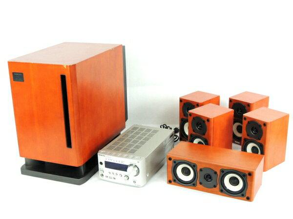 【中古】 訳あり ONKYO オンキョー BASE-V20X 5.1ch ホームシアター システム オーディオ 音響 機器 Y3053278