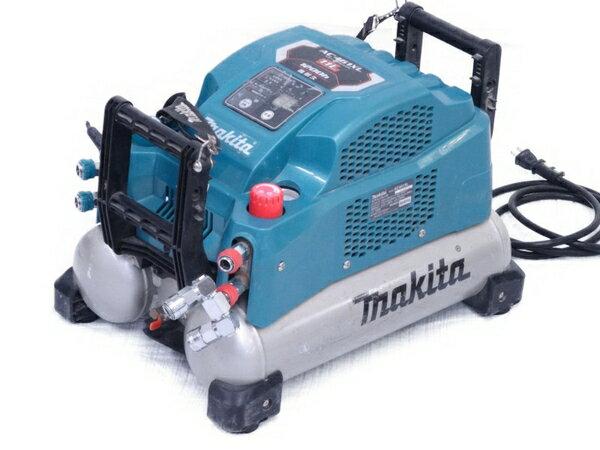 【中古】 MAKITA マキタ AC461XL エアコンプレッサ ブルー系 11L 1200h 高耐久 マキタ 電動工具 N3174303