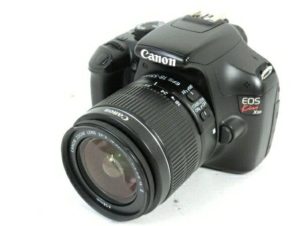 【中古】 Canon EOS kiss x50 18-55mm レンズ キット 中古 M3699646
