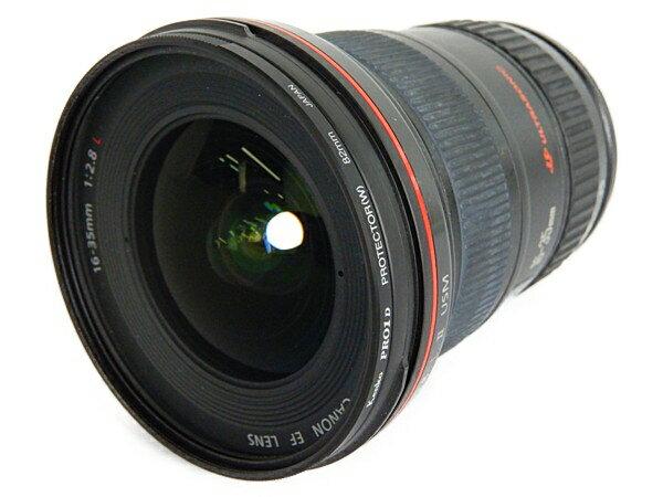 【中古】 Canon キャノン EF16-35mm F2.8L カメラ レンズ ズーム 広角 趣味 コレクション Y3755401