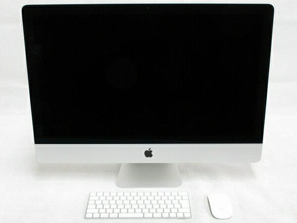 美品【中古】Apple アップル iMac MK482J/A 一体型 PC 27型 Retina 5K Core i7 6700K 4GHz 32GB SSD128GB HDD2TB Snow Leopard 10.6 Radeon R9 M395 4096MB T2378005