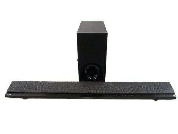 美品 中古 SONY ソニー HT-NT5 サウンドバー ホームシアター システム ハイレゾ音源対応 オーディオ機器 2017年製 S3317878