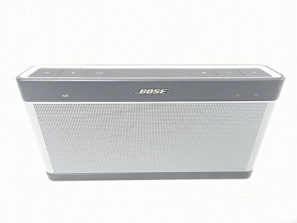【中古】 中古 BOSE ボーズ SOUNDLINK bluetooth speakerIII SLink BT III ブルートゥース スピーカー オーディオ S3140125