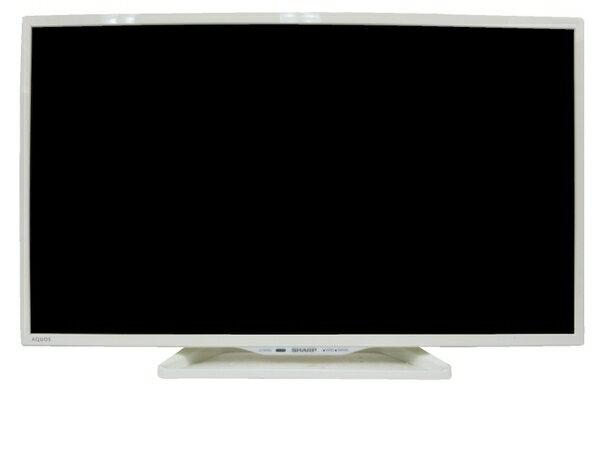 【中古】 中古 SHARP シャープ LC-32W25 液晶テレビ ホワイト 32インチ 【大型】 M3214895