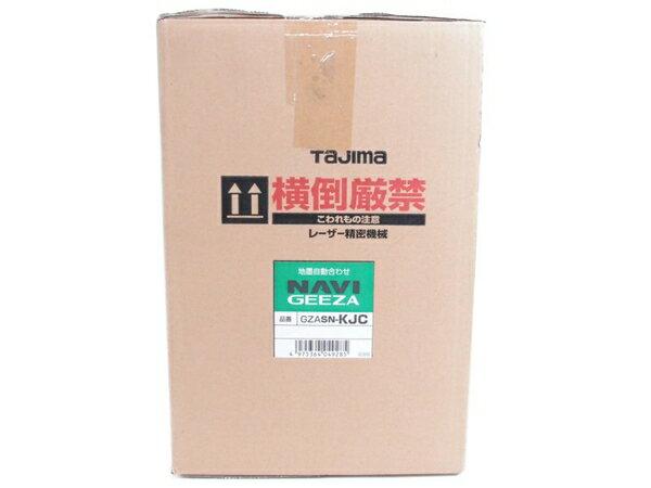未使用 【中古】 Tajima タジマ GZASN-KJC レーザー墨出し器 NAVIGEEZA センサー KJC S3286153