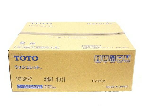 未使用 【中古】 TOTO ウォシュレット TCF6622 ホワイト T3522803
