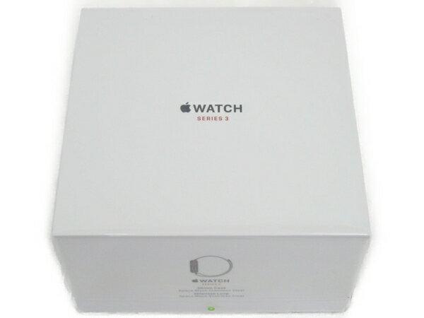未使用 【中古】 Apple WATCH MR1Q2J/A SERIES 3 38mm Case スペースブラックミラネーゼループ N3409496