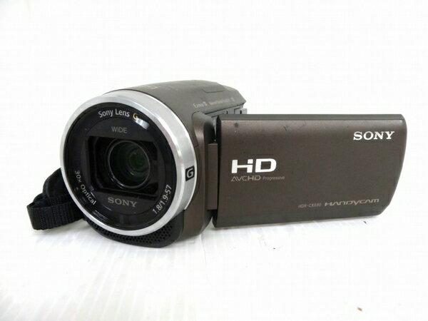 【中古】 中古 SONY ソニー HDR-CX680 デジタル HD ビデオカメラ ハンディカム ブロンズブラウン 本体 バッテリーのみ O3154563