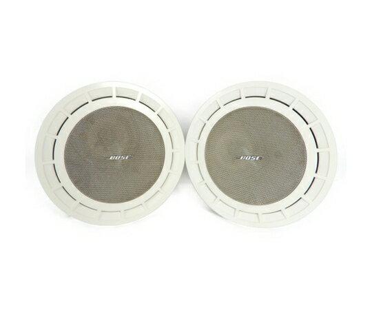 【中古】 BOSE 111TR ペア スピーカー 埋込み型 ホワイト K3770782