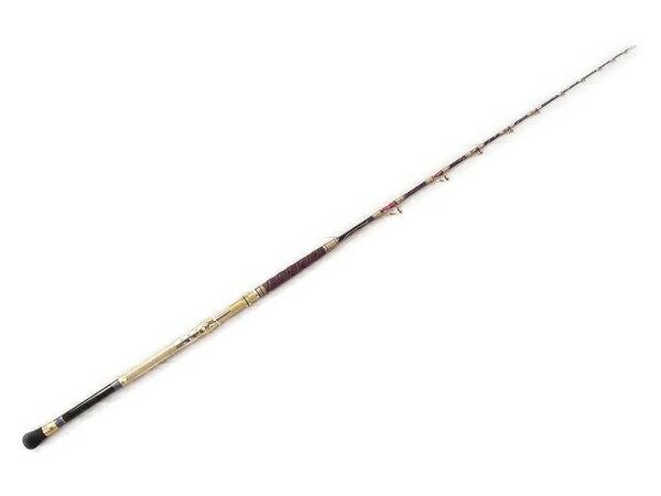 【中古】 中古 剛樹 SQ LOGOS 175 M weight 80-150 イカ専用 ロッド 釣り 釣具 釣り竿 フィッシング ソフトケース付き S2836860