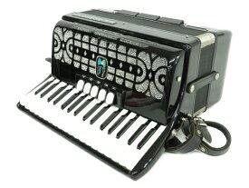 【中古】 HESSMUHLER ヘスミューラー MML72 アコーディオン ケース付き 鍵盤楽器 N4221973