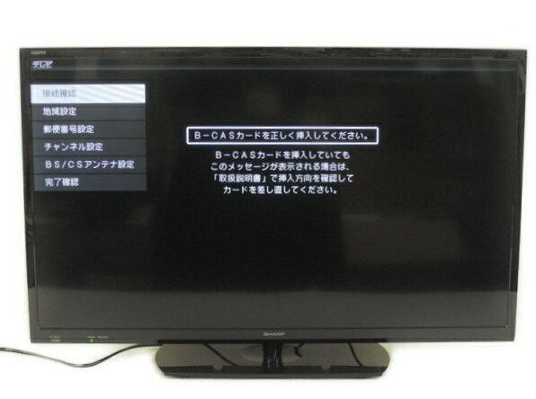 【中古】 SHARP シャープ AQUOS LC-32H30 液晶 テレビ 32型 映像 機器 楽 【大型】 Y2869756