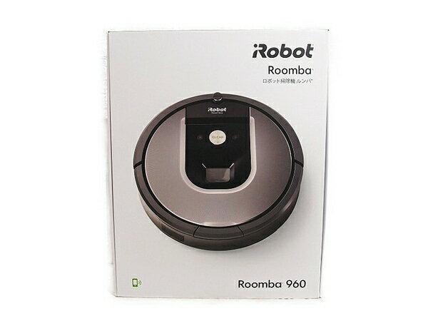 新品 【中古】 新品 iRobot アイロボット Roomba ルンバ 960 ロボット 掃除機 900シリーズ フロア清掃 保証付 S3163064