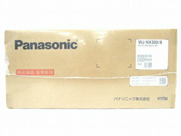 未使用 【中古】 Panasonic パナソニック WJ-NX300/8 ネットワーク ディスク レコーダー 8 TB( 2 TB×4 ) 防犯カメラ O3317272