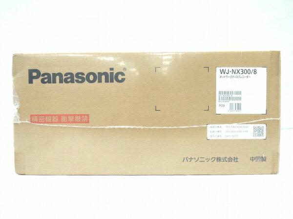 未使用 【中古】 Panasonic パナソニック WJ-NX300/8 ネットワーク ディスク レコーダー 8 TB( 2 TB×4 ) 防犯カメラ O3317273