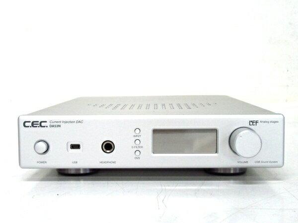 【中古】 中古 CEC D/Aコンバーター DA53N ヘッドホンアンプ F3230112