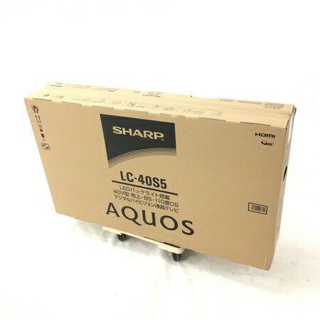 未使用 【中古】 SHARP AQUOS アクオス LC-40S5 40型 液晶 テレビ 40インチ 家電 シャープ 未開封 W3658072