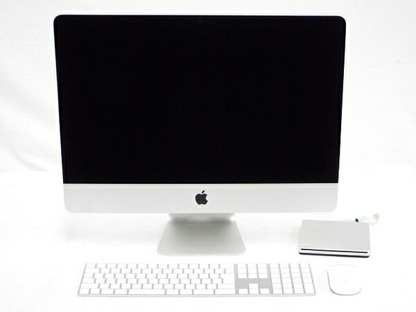 【中古】 良好 Apple アップル iMac MK452J/A 一体型 PC 21.5型 Retina 4K Late 2015 i7 5775R 3.3GHz 16GB SSD256GB High Sierra 10.13 T3203929