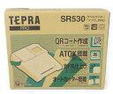 未使用 【中古】 TEPRA テプラ PRO SR530 ラベルライター シルバー オフィス用品 ラベルプリンタ 本体 キングジム 4-2…