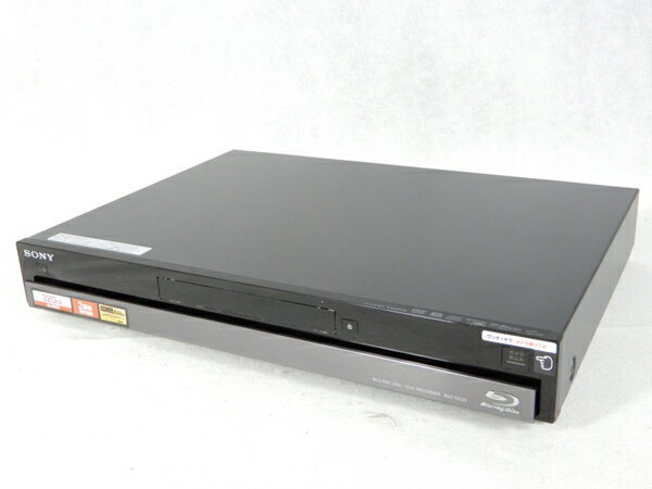 【中古】 SONY ソニー BDZ-RX35 BD ブルーレイ レコーダー 320GB ブラック 録画 K3148725