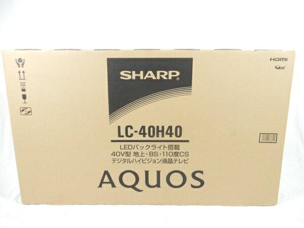 未使用 【中古】 SHARP シャープ アクオス AQUOS LC-40H40 液晶テレビ 40型 17年 K3219998