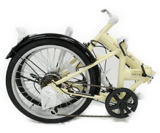 【中古】 良好 OTOMO Raychell FB-206R 折りたたみ 自転車 20インチ W3401715