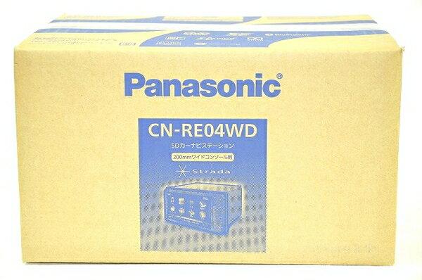 未使用 【中古】 Panasonic CN-RE04WD Strada REシリーズ SDカーナビステーション T3228394