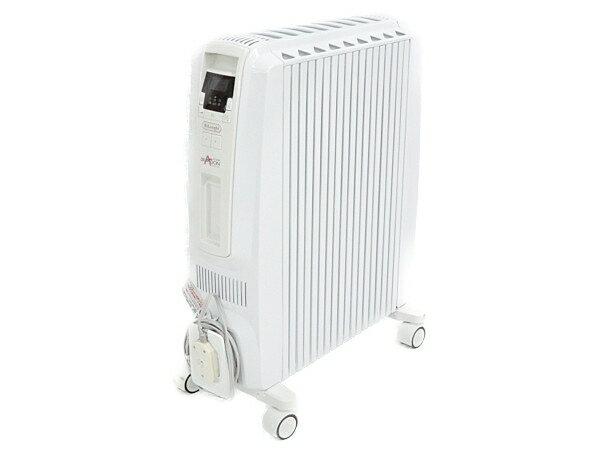 【中古】 DeLonghi デロンギ ドラゴンデジタル TDD0915W オイルヒーター 暖房 Y3718404