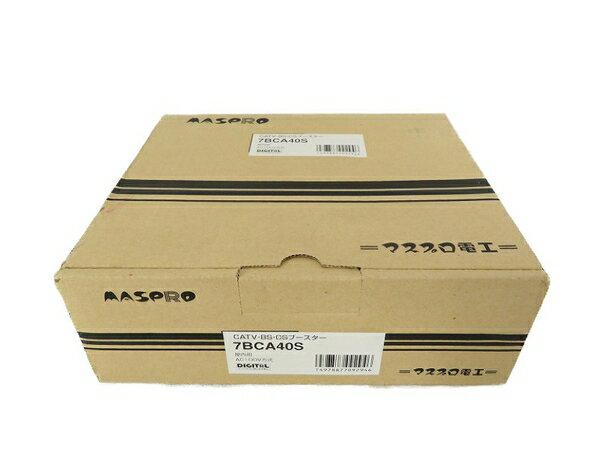 未使用 【中古】 マスプロ電工 双方向 BS/CS ブースター 7BCA40S S3576600