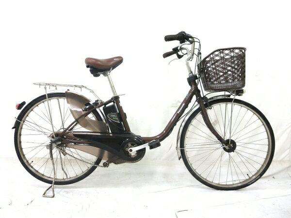 【中古】 中古 Panasonic BE-ELD63T パナソニック 電動アシスト自転車 ビビDX 26インチ 【大型】 M3340224