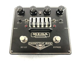 【中古】 MESA BOOGIE ENGINEERING THROTTLE BOX メサブギー エフェクター イコライザー 音響 ジャンク N5897997