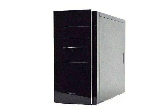 【中古】 FRONTIER FRGX517/Ds デスクトップ パソコン PC i5 4430 3GHz 8GB HDD1TB Win7 Pro 64bit T2987856