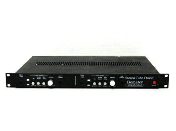 【中古】 DEMETER STDB-1 2ch Stereo Tube Direct 音響 オーディオ 中古 F3816746