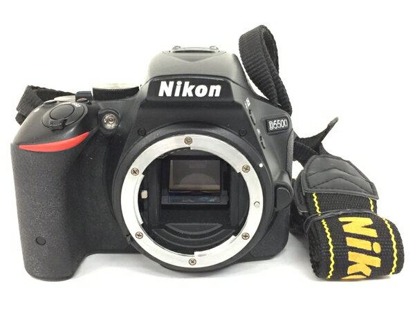 【中古】 Nikon ニコン D5500 カメラ デジタル一眼レフ ボディ T3705553