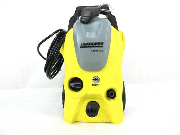 【中古】 良好 KARCHER ケルヒャー K2.900 高圧洗浄機 サイレント 家庭用 周波数 50Hz 東日本専用 M3161921