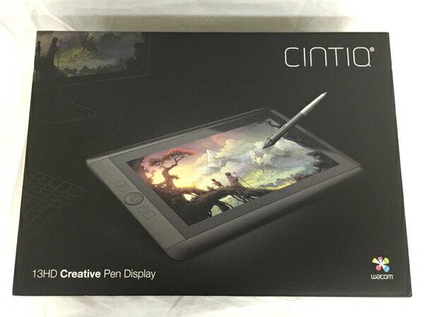 【中古】 ワコム DTK-1301 13.3型 液晶 ペンタブレット タブレット WACOM T2769089