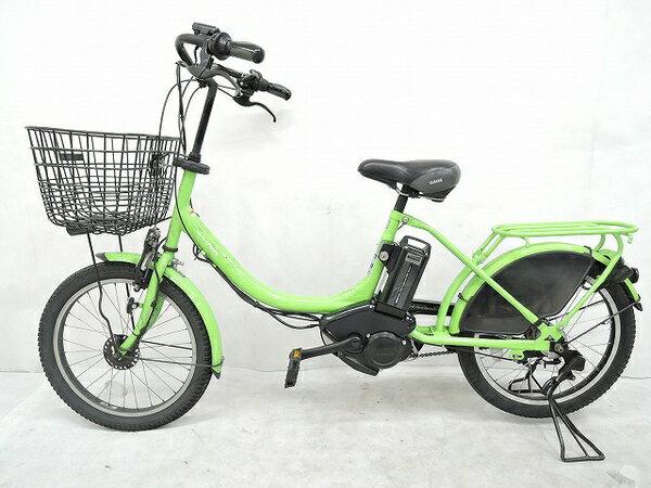 【中古】 YAMAHA PAS Babby PM20B 電動 アシスト 自転車 20インチ ヤマハ パスバビー 中古 【大型】 O3698326