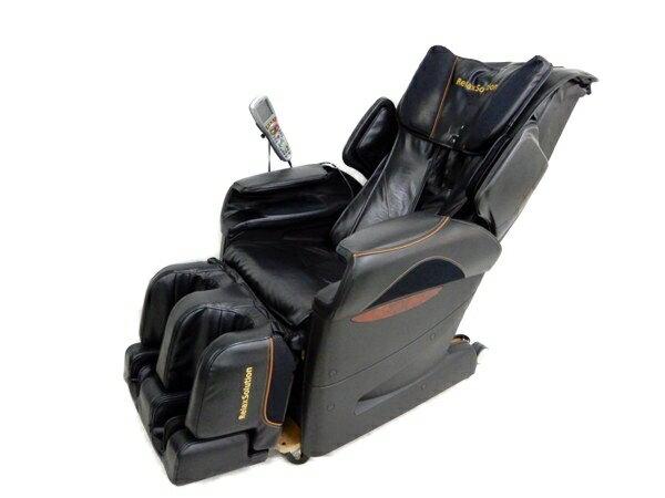 【中古】 FUJIIRYOKI フジ医療器 Relax Solution SKS-4600 マッサージチェア ブラック 【大型】 Y2861005