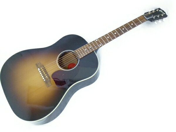 【中古】 良好 GIBSON Acoustic Custom Shop J-45 VOS 2016 エレアコ Vintage Sunburst USA 楽器 弦楽器 ギター N3220090