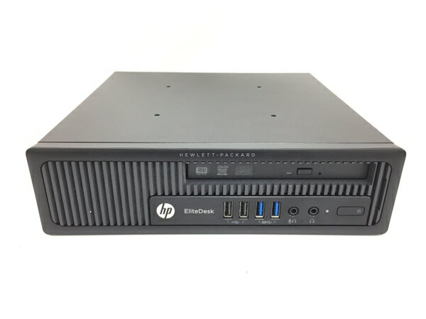 【中古】 HP EliteDesk 800 デスクトップ パソコン PC i3 4160 3.6GHz 16GB HDD320GB Win7 Pro 64bit T3472410