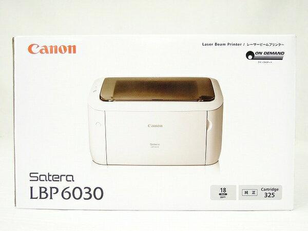 未使用 【中古】 未使用 未開封 Canon キヤノン レーザープリンタ Satera LBP6030 モノクロ プリンター A4 機器 O2761346