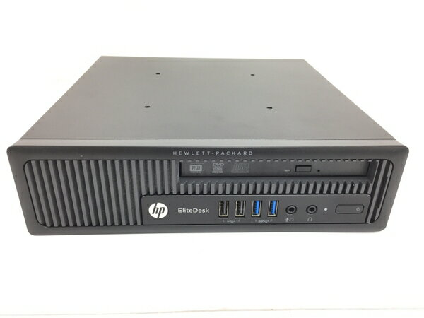 【中古】 HP EliteDesk 800 デスクトップ パソコン PC i3 4160 3.6GHz 16GB HDD320GB Win7 Pro 64bit T3472405