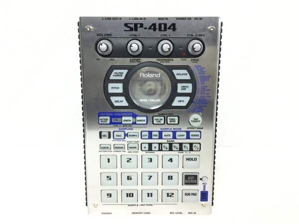 美品 【中古】 Roland SP-404 サンプラーオーディオ 音響機器 S3853562