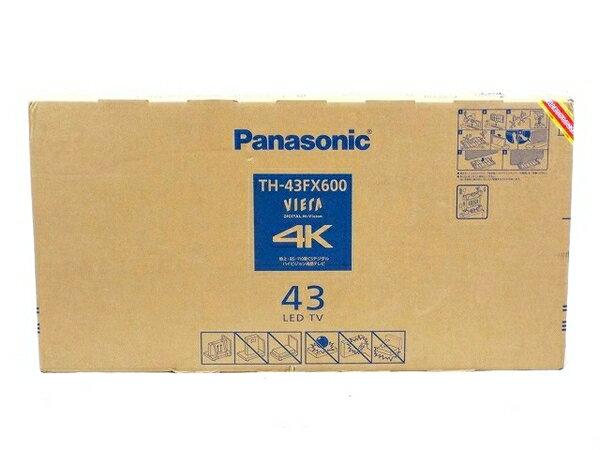 未使用 【中古】 Panasonic ビエラ TH-43FX600 液晶 テレビ 43V型 T3409179