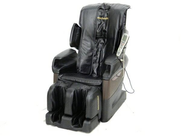【中古】 FUJIIRYOKI フジ医療器 RelaxSolution SKS-4500 マッサージチェア ブラック【大型】 K3599828
