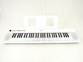 【中古】 YAMAHA ヤマハ piaggero NP-12 ホワイト 61鍵 2017年製 電子 ピアノ 楽器 中古 O4387637