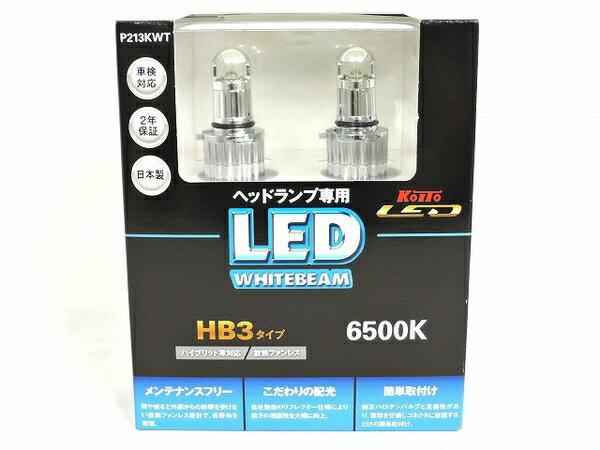 未使用 【中古】 未使用 小糸製作所製 KOITO P213KWT ヘッドランプ専用 6500K HB3タイプ LED ホワイトビーム O2884417