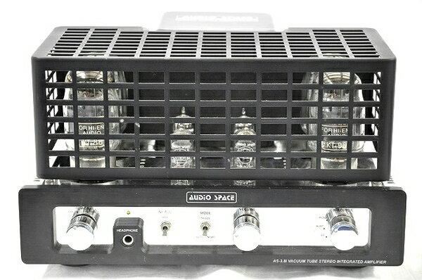 【中古】 AUDIO SPACE AS-3.8i 管球式 プリメイン アンプ オーディオ機器 T3182118