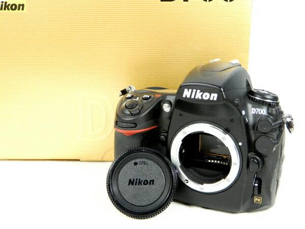 【中古】 良好 Nikon ニコン D700 カメラ デジタル一眼レフ ボディ 光学 機器 K3223926